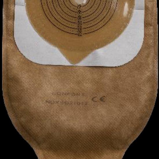 კოლოსტომის ჩანთა დრენირებადი, სამაგრით